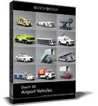 Dosch 3D: Airport Vehicles